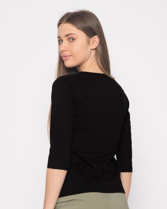 Shop Dark Carpe Diem Round Neck 3/4th Sleeve T-Shirt-Full