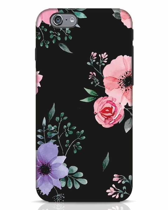 Shop Dark Florals iPhone 6 Mobile Cover-Front