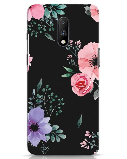 Shop Dark Florals OnePlus 7 Mobile Cover-Front
