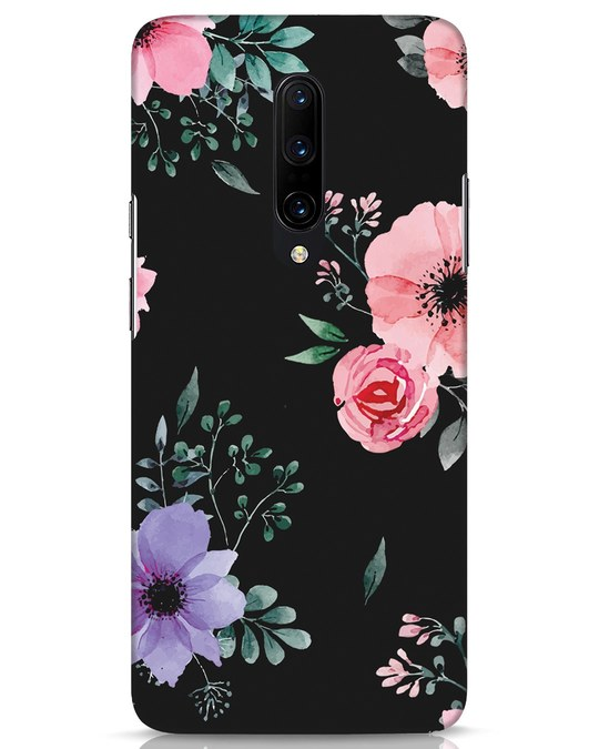 Shop Dark Florals OnePlus 7 Pro Mobile Cover-Front