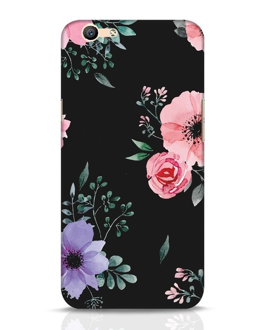Shop Dark Florals Oppo F1s Mobile Cover-Front