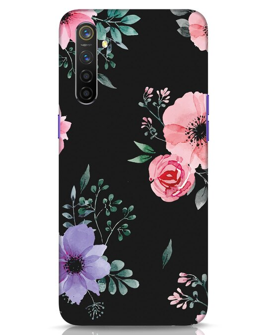 Shop Dark Florals Realme 6 Mobile Cover-Front