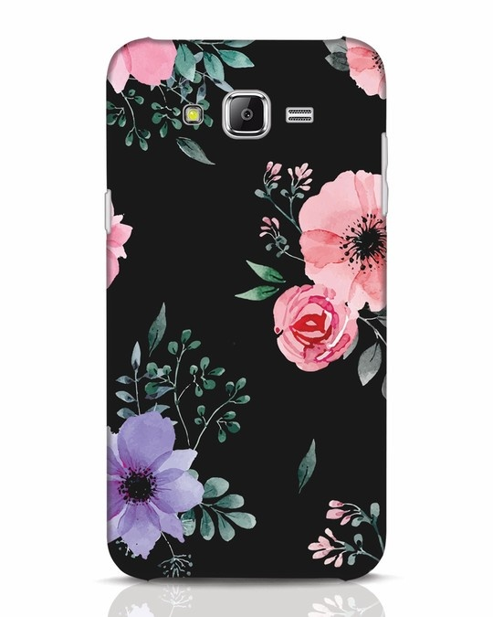 Shop Dark Florals Samsung Galaxy J7 Mobile Cover-Front
