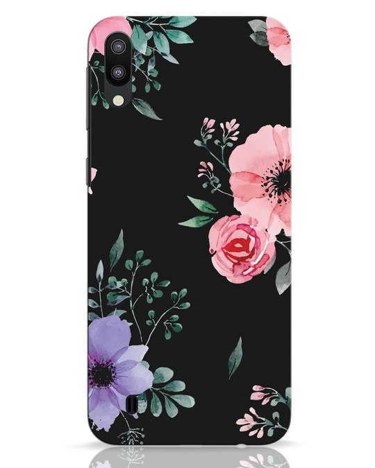 Shop Dark Florals Samsung Galaxy M10 Mobile Cover-Front