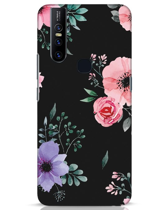 Shop Dark Florals Vivo V15 Mobile Cover-Front