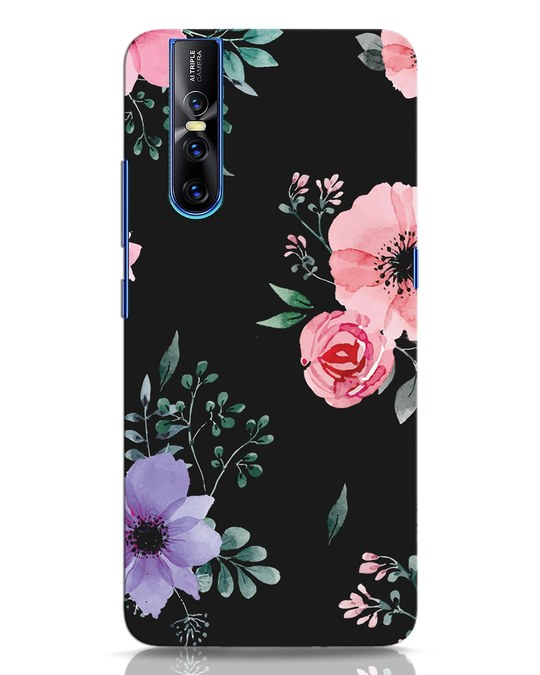 Shop Dark Florals Vivo V15 Pro Mobile Cover-Front