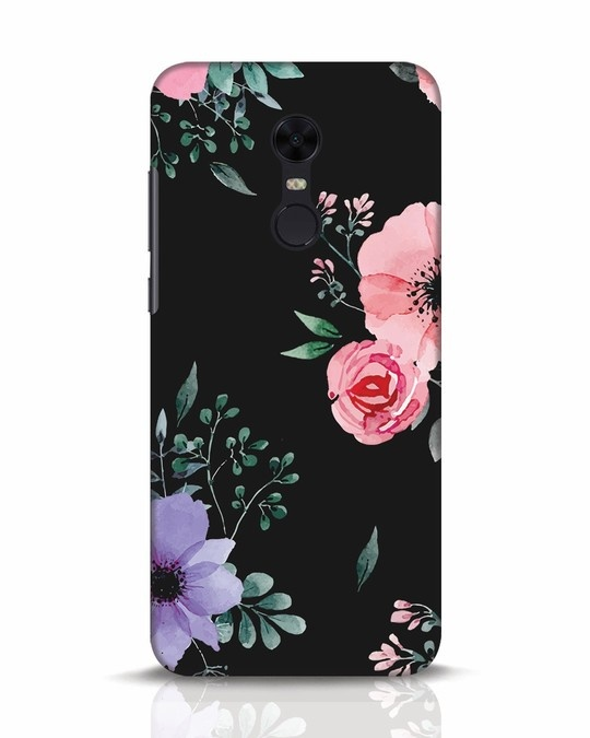 Shop Dark Florals Xiaomi Redmi Note 5 Mobile Cover-Front