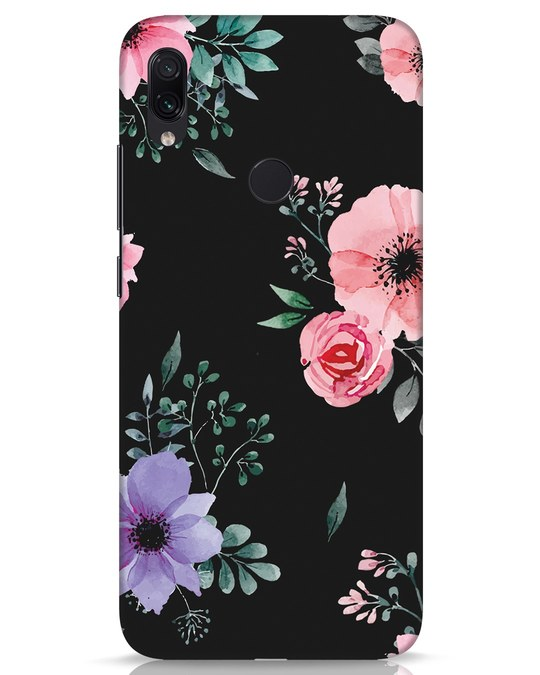 Shop Dark Florals Xiaomi Redmi Note 7s Mobile Cover-Front