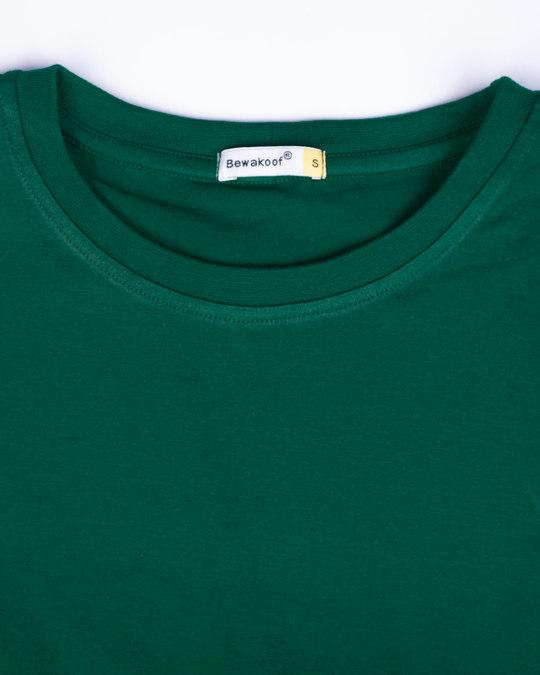 Shop Dark Forest Green Boyfriend T-Shirt