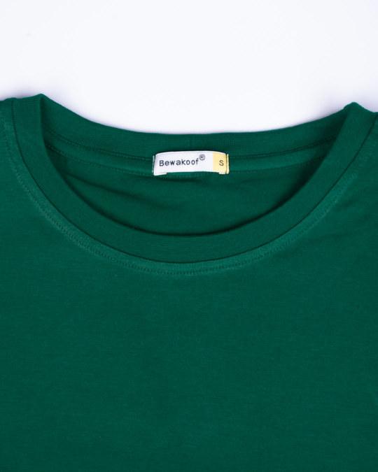 Shop Dark Forest Green Full Sleeve T-Shirt