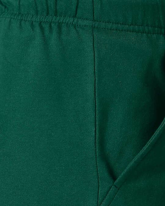 Shop Dark Forest Green Men's Casual Shorts