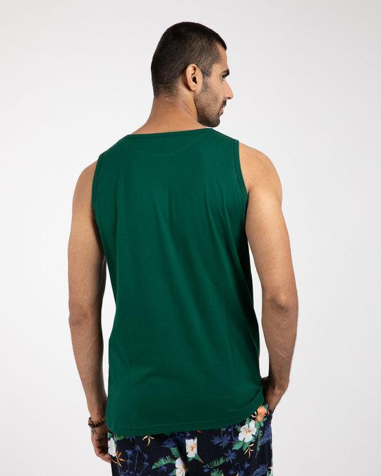 Shop Dark Forest Green Vest