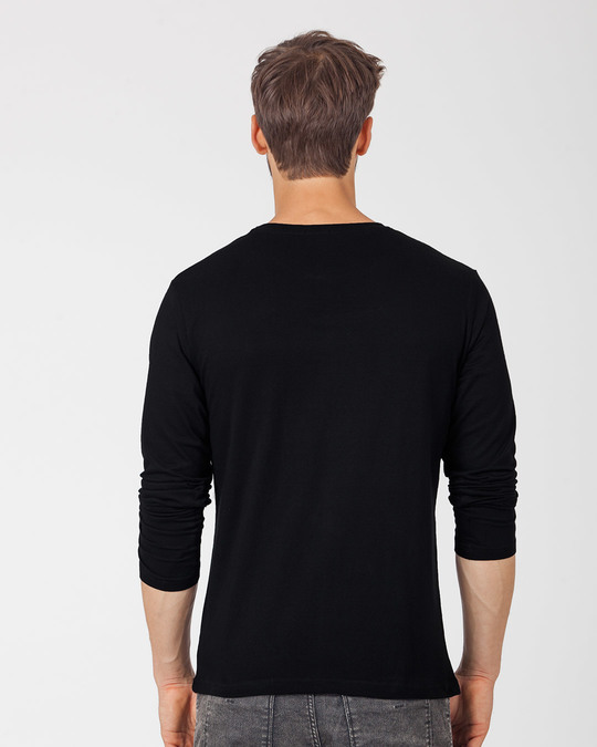 Shop Dark Gradient Mickey Full Sleeve T-Shirt (DL)-Back