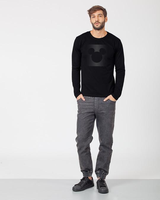 Shop Dark Gradient Mickey Full Sleeve T-Shirt (DL)-Design