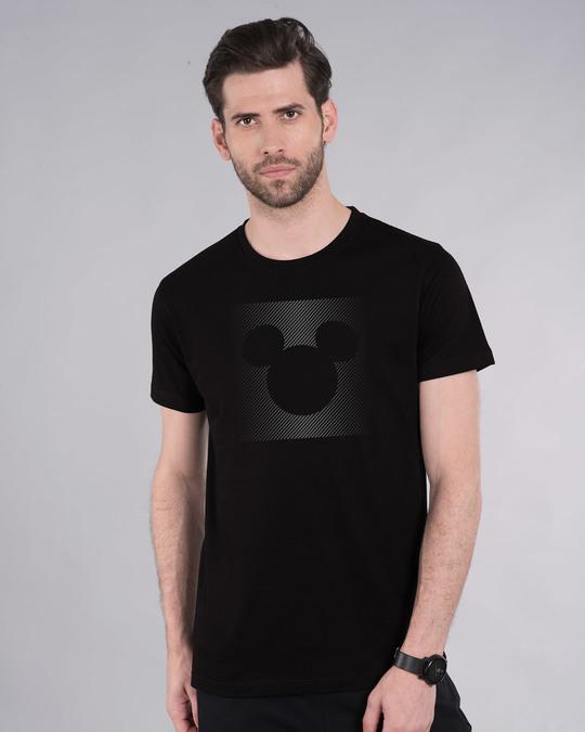 Shop Dark Gradient Mickey Half Sleeve T-Shirt (DL)-Back