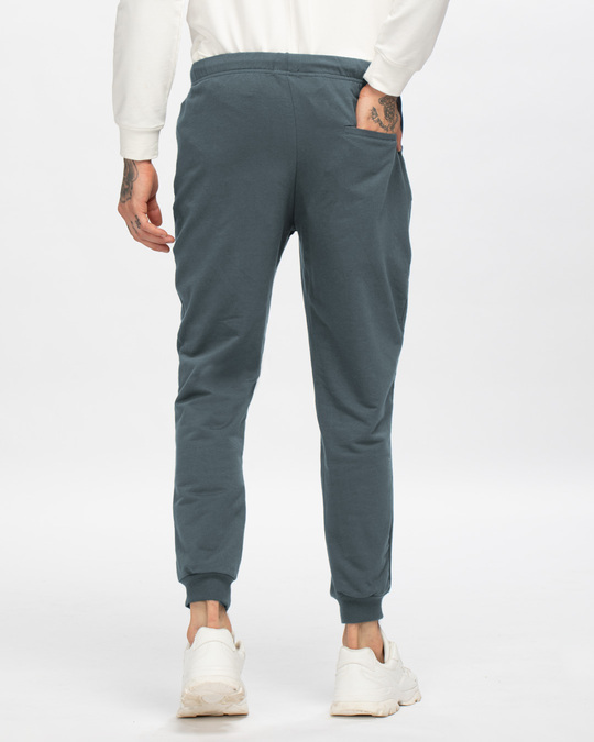 Shop Dark Grey Casual Jogger Pant-Design