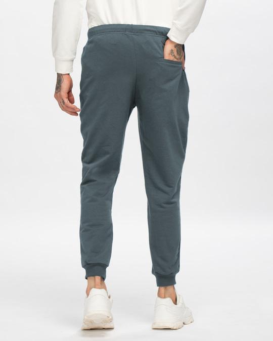 Shop Dark Grey Joggers-Design