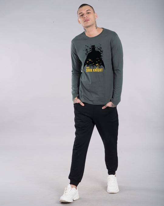 Shop Dark Knight Bats Full Sleeve T-Shirt (BL)-Full