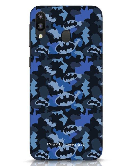 Shop Dark Knight Camo Samsung Galaxy M20 Mobile Cover-Front