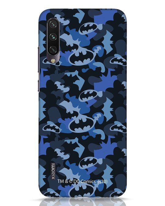 Shop Dark Knight Camo Xiaomi Mi A3 Mobile Cover-Front