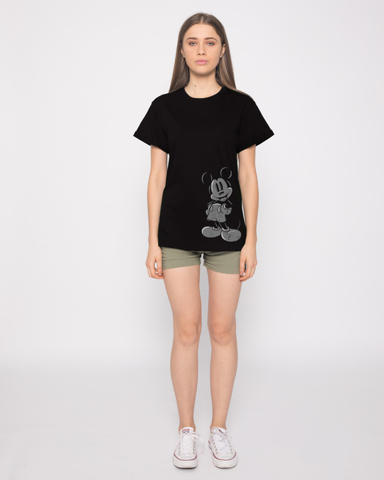 Shop Dark Mickey Boyfriend T-Shirt (DL)