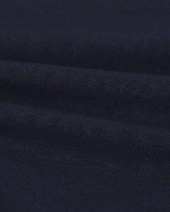 Shop Dark Navy Casual Cotton Pants