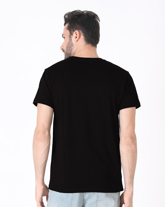 Shop Dark Rebel Half Sleeve T-Shirt-Design