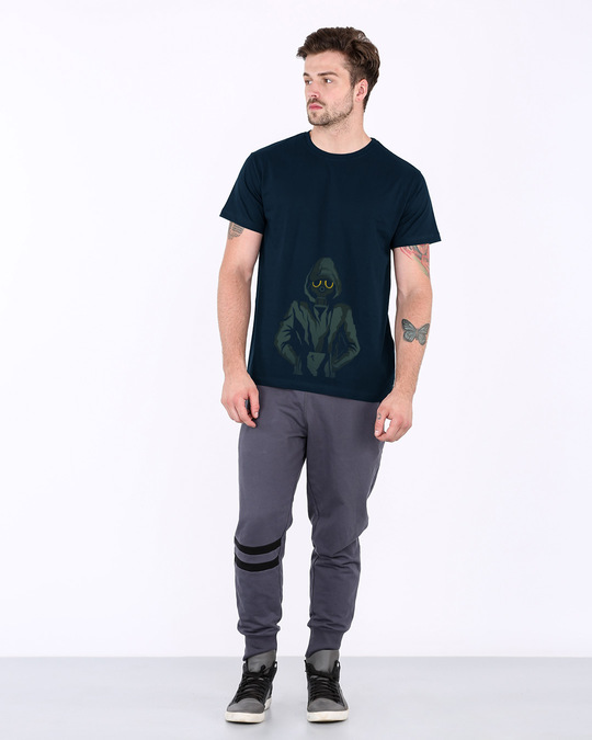 Shop Dark Rebel Half Sleeve T-Shirt