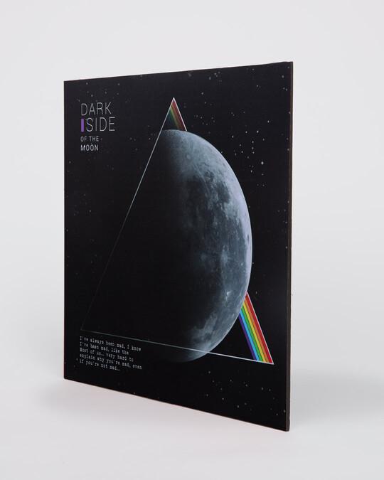 """Shop Dark Side Square Graphic Board - 12""""x12"""" Multicolor-Back"""