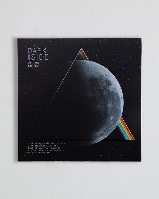 """Shop Dark Side Square Graphic Board - 12""""x12"""" Multicolor-Front"""