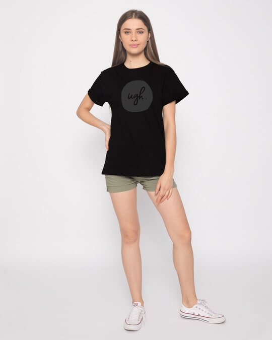 Shop Dark Ugh Boyfriend T-Shirt