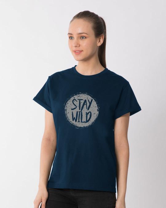 Shop Dark Wild Boyfriend T-Shirt-Back