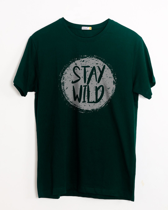 Shop Dark Wild Half Sleeve T-Shirt-Front