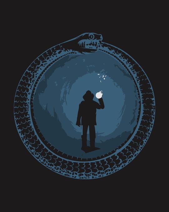 Shop Darkcave Front & Back Half Sleeve T-Shirt