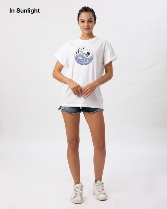 Shop Day Night Ying Yang Sun Active T-Shirt