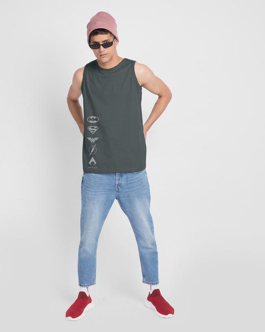 Shop Dc Logos Vest (DCL)-Full