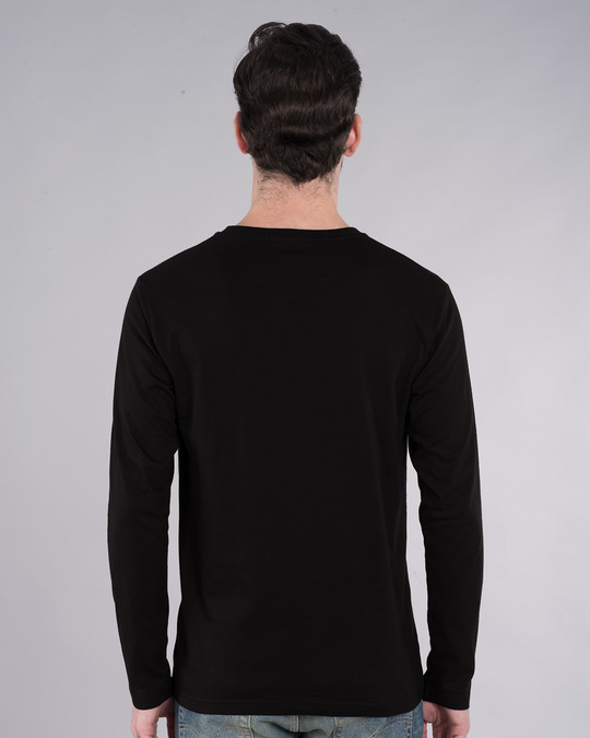 Shop Deadpool Abuse Full Sleeve T-Shirt (DPL)-Back