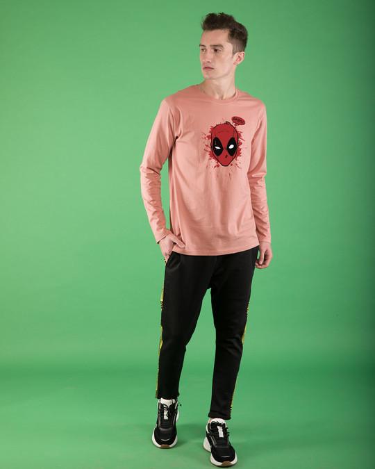 Shop Deadpool Abuse Full Sleeve T-Shirt (DPL)-Full