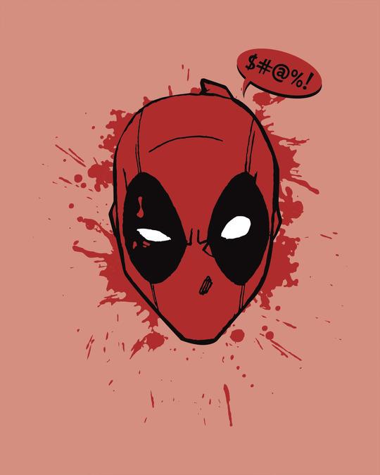 Shop Deadpool Abuse Full Sleeve T-Shirt (DPL)