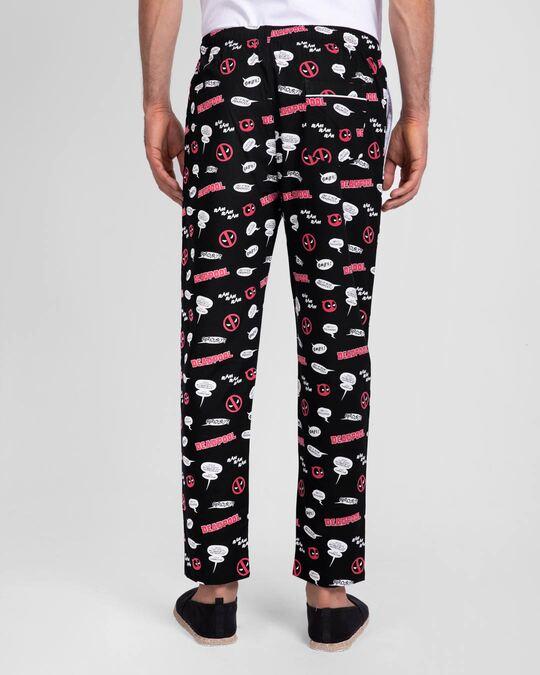 Shop Deadpool All Over All Over Printed Pyjama (DPL)-Design