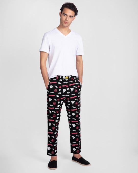 Shop Deadpool All Over All Over Printed Pyjama (DPL)-Full