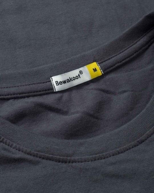 Shop Deadpool Awesome Half Sleeve T-Shirt (DPL)