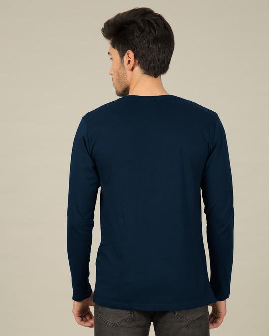 Shop Deadpool Caught You Full Sleeve T-Shirt (DPL)-Back