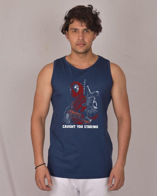 Shop Deadpool Caught You Vest (DPL)-Front