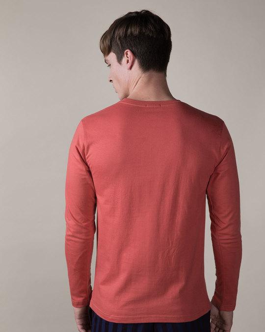 Shop Deadpool Eyes Full Sleeve T-Shirt (DPL)-Back