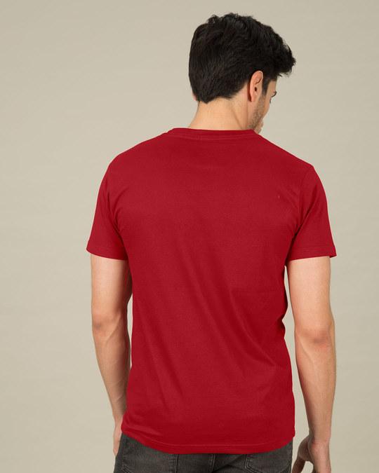 Shop Deadpool Eyes Half Sleeve T-Shirt (DPL)-Full