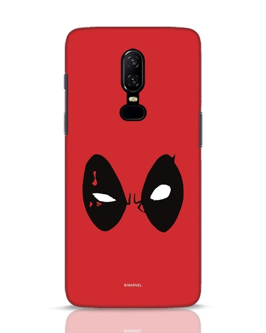 Shop Deadpool Eyes OnePlus 6 Mobile Cover-Front