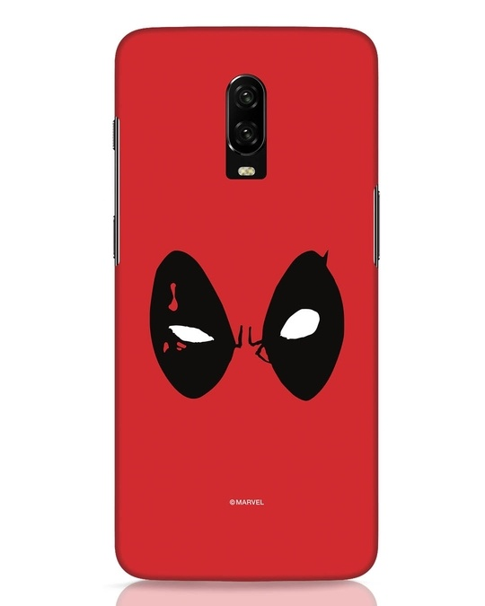 Shop Deadpool Eyes OnePlus 6T Mobile Cover-Front