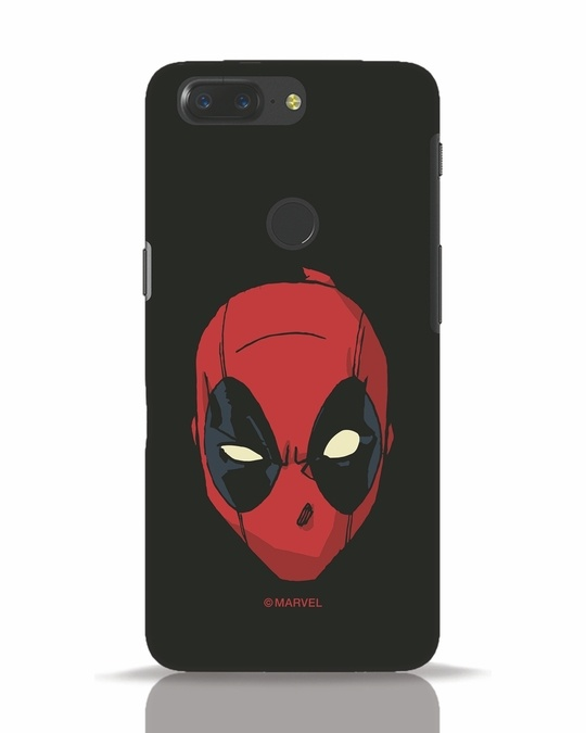 Shop Deadpool Face OnePlus 5T Mobile Cover (DPL)-Front