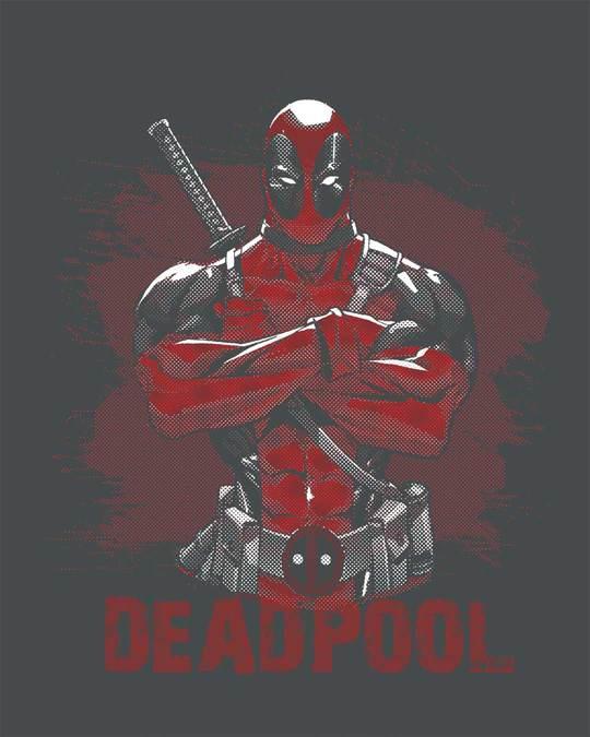 Shop Deadpool Full Sleeve T-Shirt (DPL)